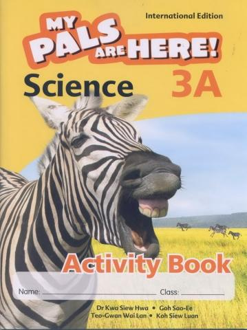 MPH Science Activity Book 3A (Int'l Edition) (9789810168452)