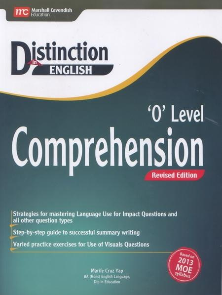 Distinction in English: 'O' Level Comprehension (Revised Edition) (9789810118600)