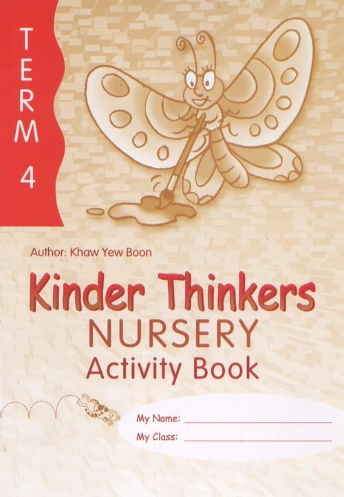 Kinder Thinkers Nursery Term 4 Activity Book (9780195887365)
