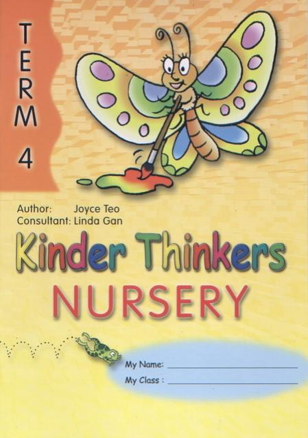 Kinder Thinkers Nursery Term 4 Coursebook (9780195887266)