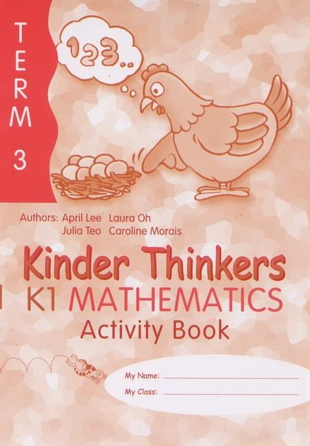 Kinder Thinkers K1 Mathematics Term 3 Activity Book (9780195887341)
