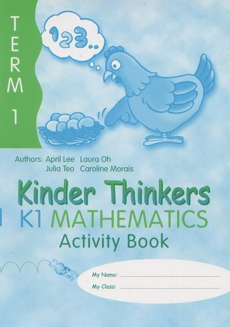 Kinder Thinkers K1 Mathematics Term 1 Activity Book (9780195886702)