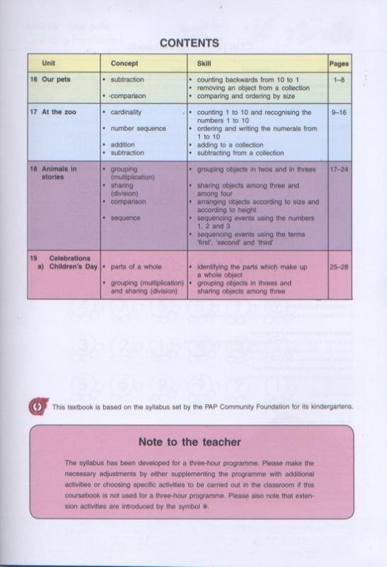 Kinder Thinkers K1 Mathematics Term 4 Coursebook (9780195887297)