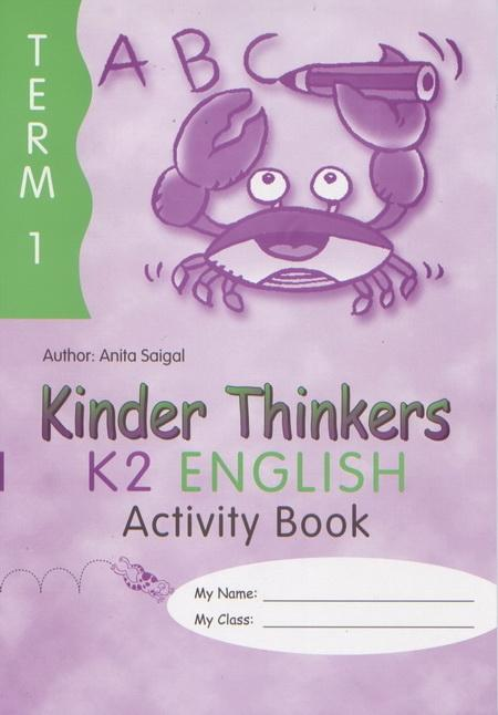 Kinder Thinkers K2 English Term 1 Activity Book (9780195886696)