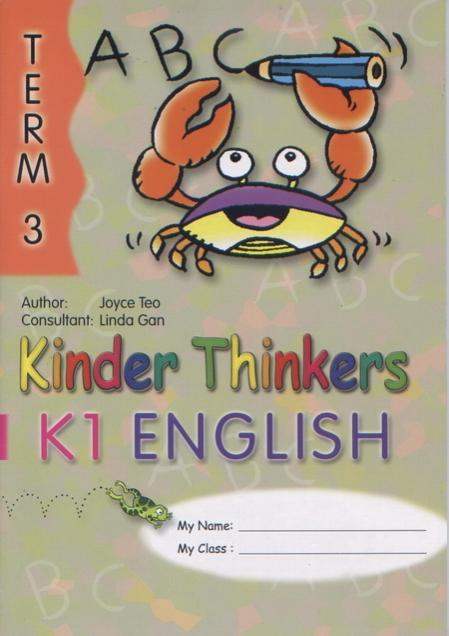 Kinder Thinkers K1 English Term 3 Coursebook (9780195887228)