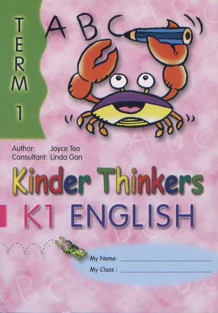 Kinder Thinkers K1 English Term 1 Coursebook (9780195886634)