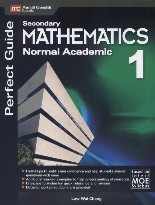 Perfect Guide Mathematics (NA) Secondary 1 (9789810198770)