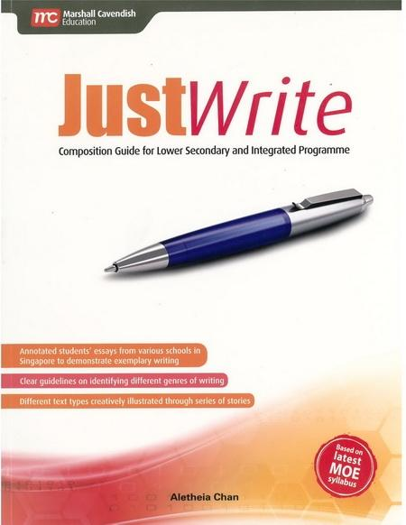 Just Write Composition Guide for Lower Secondary and Integrated Programme (9789810197216)