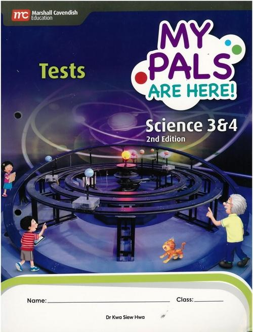 MPH Science Tests P3&4 (3rd Edition) (9789810195830)