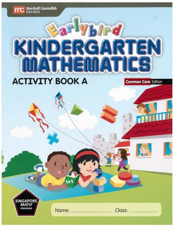 Earlybird Kindergarten Mathematics Activity Book A (Common Core Ed.) (9789810198398)