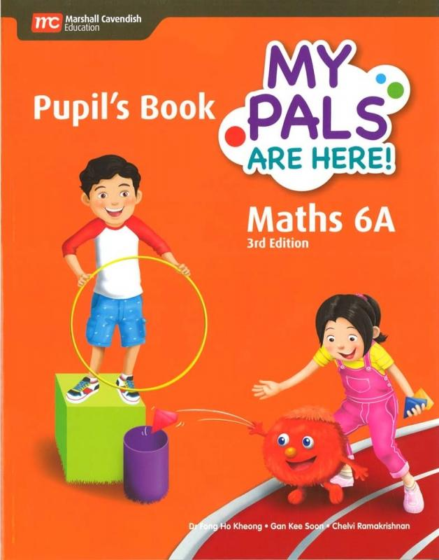 MPH Maths Pupil's Book 6A (3E) (9789813168787)