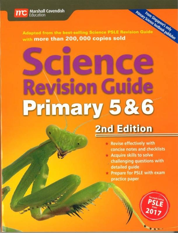 Science Revision Guide Primary 5&6 (2nd Edition) (9789813165960)