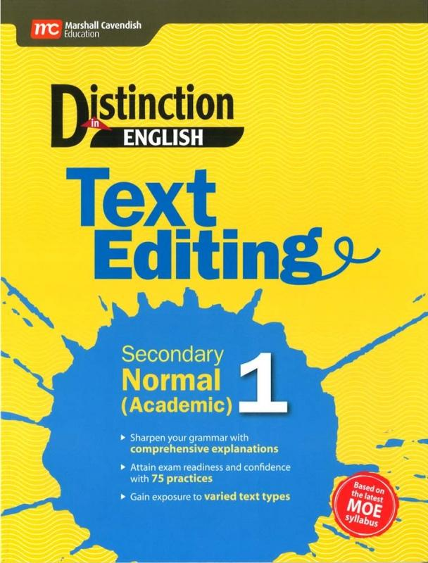 Distinction in Eng Text Editing Sec 1 NA (9789813164994)